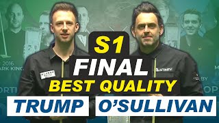 Ronnie O'Sullivan v Judd Trump | Final | Session 1 | Northern Ireland Open Snooker 2020