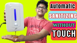 Unboxing and review of Wise automatic smart sensor sanitization machine /CY