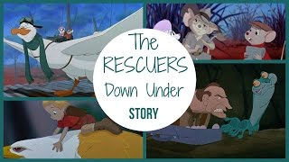 The Rescuers Down Under Story / Walt