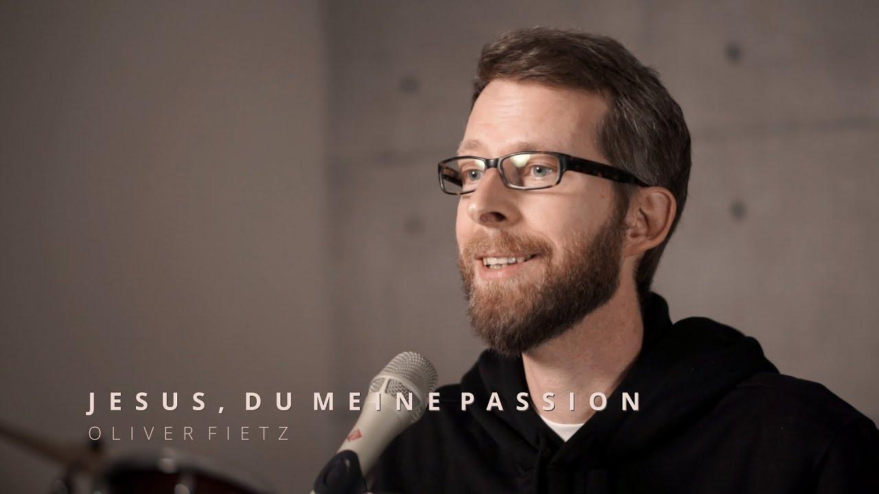 Oliver Fietz singt 'Jesus, du meine Passion' #studiosession