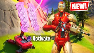 NEW UPDATE!! IRON MAN MYTHIC LOCATION! (Fortnite Season 4)