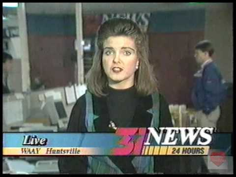 WAAY 31   News Update   1996   Beth Jett   Huntsville Alabama