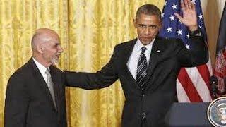 РЖАЧ ! ТУПОЙ ОБАМА назвал президента Афганистана другим именем!