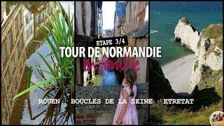 L'Est de la Normandie en famille : Rouen, Etretat, et les Boucles de la Seine
