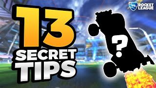 13 SECRET Rocket Leągue Tips For New Players (BEGINNERS & LOW RANKS)