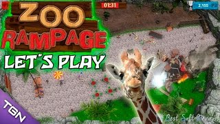 ZOO Rampage Let´s Play | Gameplay Español | Zoo Rampage review