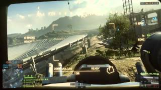 (720p) BF4 - (PC) Using Controller :P