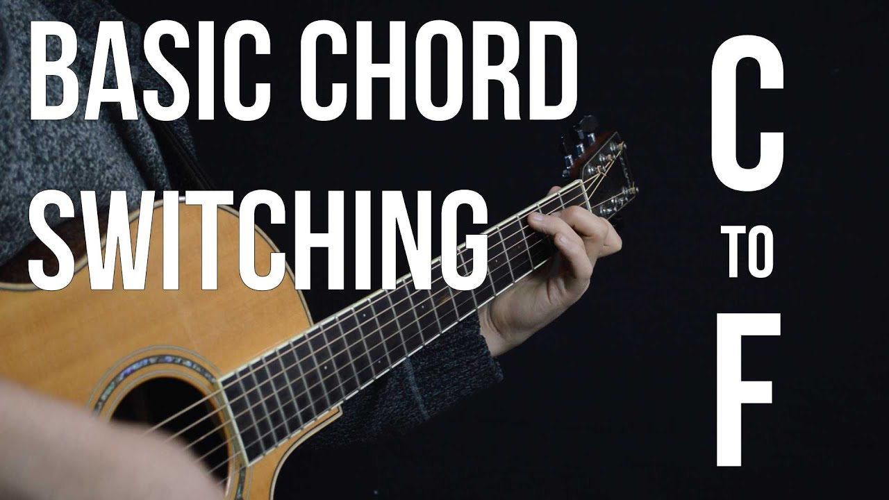 Chord Switching Practice C To F The Fastest Way To Memorize The