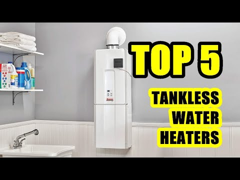 TOP 5: Best Tankless Water Heater 2021 on Amazon | Electric and Natural Gas