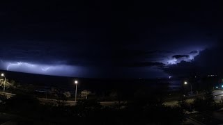 Stormy Sunrise - Oakes Seaforth Resort, Alexandra Headlands, QLD - 20-01-15