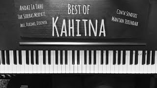 #kahitna #thebestofkahitna The Best of Kahitna Medley Piano Cover (My Top 5 Kahitna Songs)