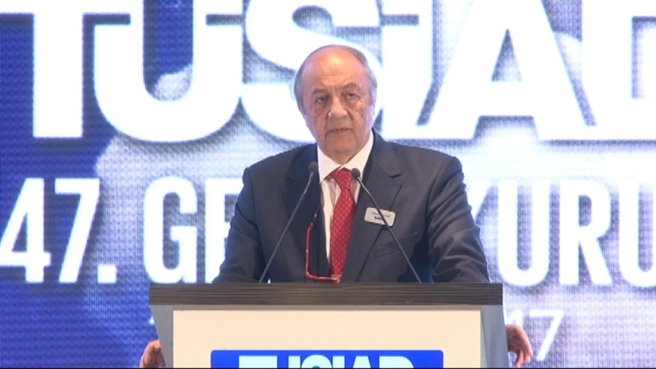 TÜSİAD YİK Başkanı Tuncay Özilhan'ın TÜSİAD 47. Olağan Genel Kurul Toplantısı Açılış Konuşması