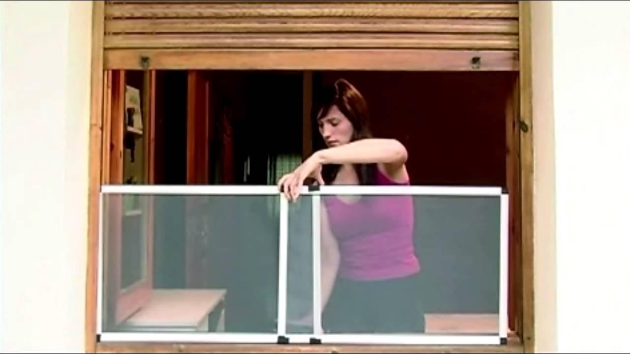 Mosquitera extensible para ventana con persiana - Modo fácil de ...