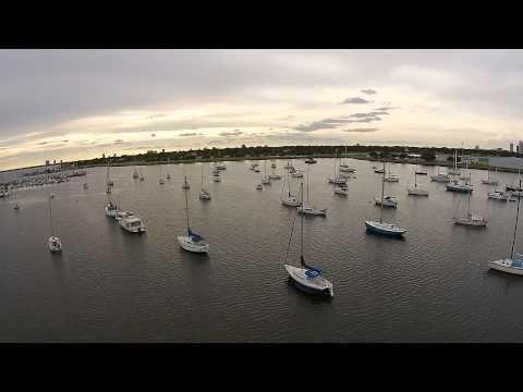 Davis Island Tampa Bay Aerial