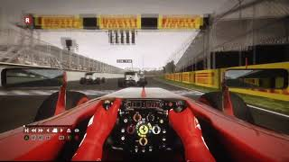 Codemasters F1 Simulator - Canada Grand Prix 2012  - First Lap