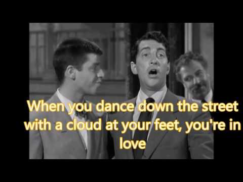 That's Amore (with lyrics)  Dean Martin