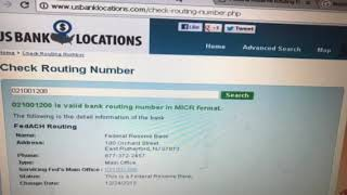 TDA ACCOUNT LESSER BANK ROUTING NUMBERS FOR EACH FEDERAL RESERVE BANK