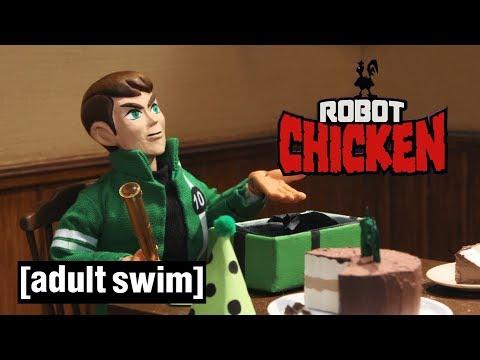 3 Cartoon Network Classics | Robot Chicken | Adult Swim
