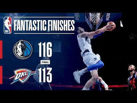 The Mavericks and Thunder Engage in a Fantastic Finish on NYE | December 31, 2017
