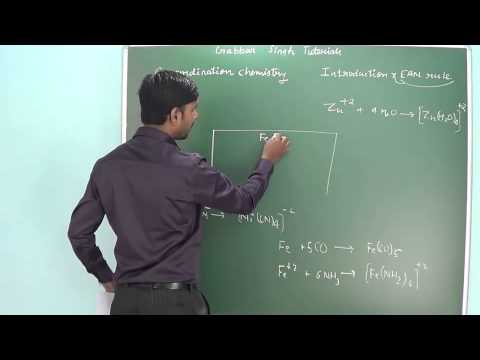2.1 Coordination chemistry Introduction, Coordination number & EAN rule (Coordination chemistry)