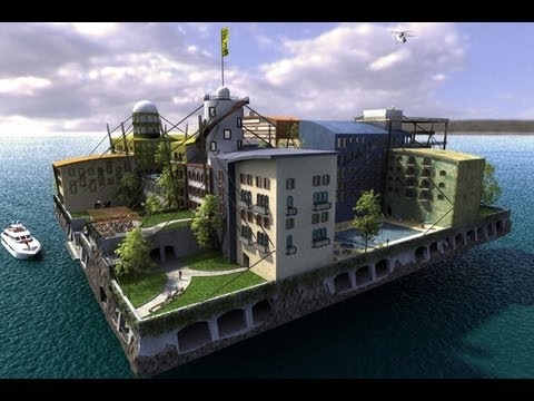 Rich People Wasting Money on Building Libertarian Islands Now