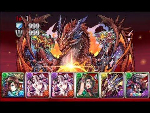 [Puzzle and Dragons] Legendary Skyrealm (Kushi/Diablos)