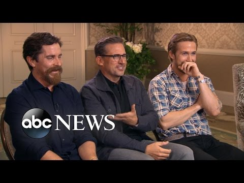 One on One With the Cast of 'The Big Short' en streaming
