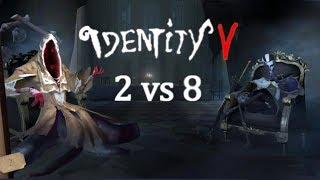 Identity V ( DBD na telefon ) z Yanginoku #9 - Tryb 2 vs 8 i nowy Morderca!