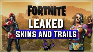 Fortnite LEAKED Skins And Trails #2 (Part 1)