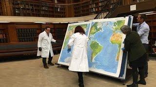 Ищем Азербайджан и Армению на древних картах в университетской библиотеке США.