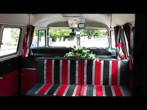 VW Black Betty Wedding Campervan !