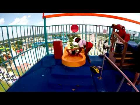 Water Slides and Rides at Six Flags Hurricane Harbor in Arlington Texas