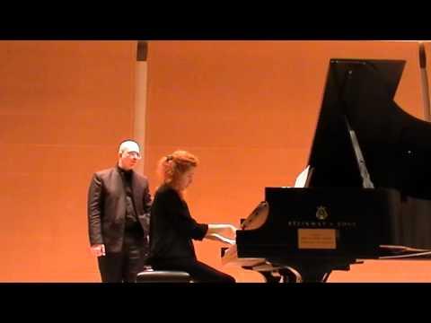 Ran Zemach Piano Master Class on Ravel's Gaspard de la Nuit: Tel Aviv Music Academy
