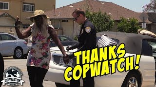 Copwatch | Traffic Stop Occupants Pulled Out Cuffed & Searched