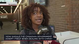 How should the Canadian government assert itself when dealing with China? | Outburst