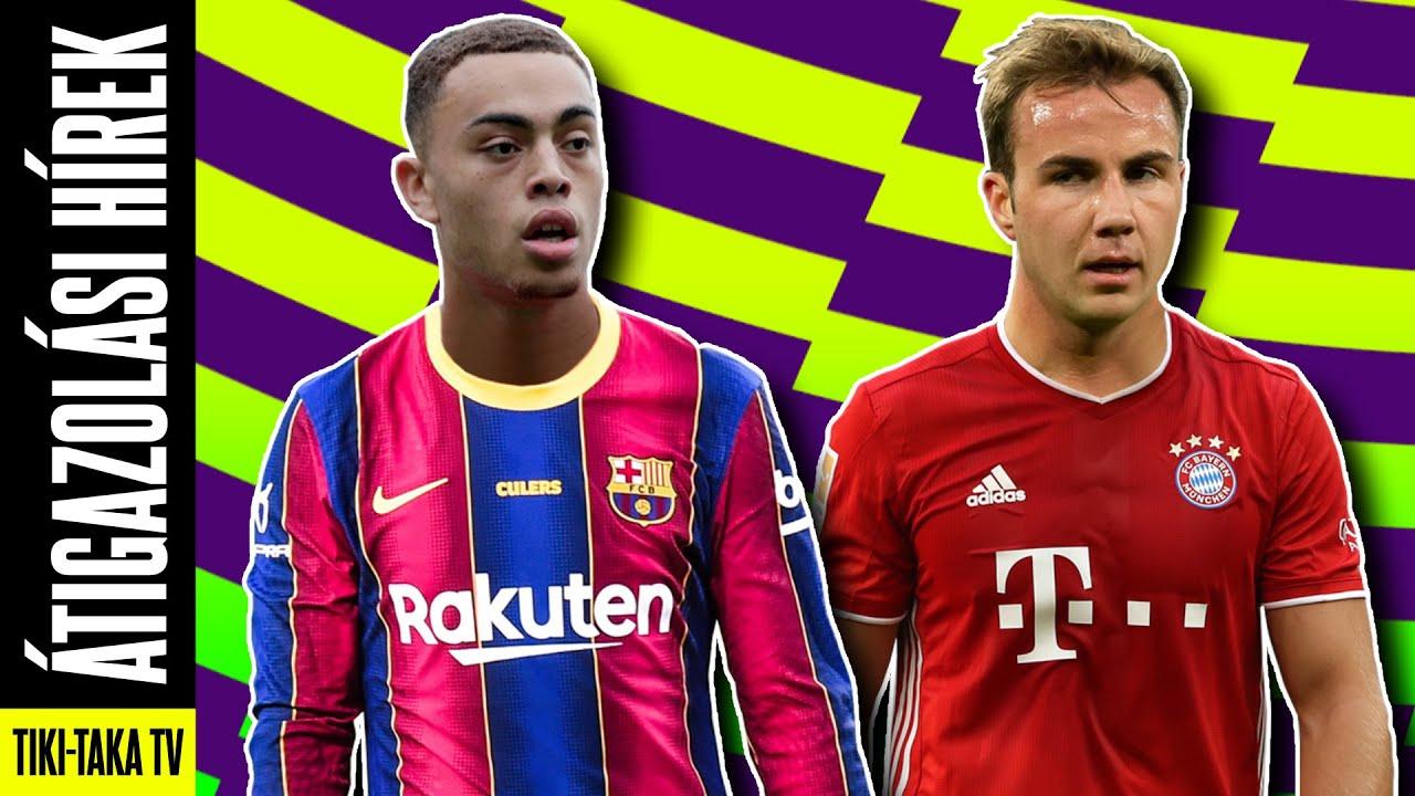 A Barca egy lépésre Dest megszerzésétől! Götze visszatér a Bayernbe?? ► Átigazolási hírek