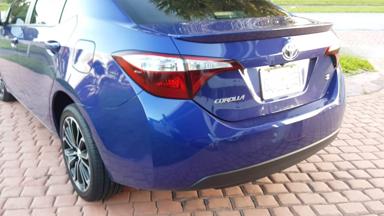 2014-2016 Toyota Corolla tail light removal/VHT Nightshade