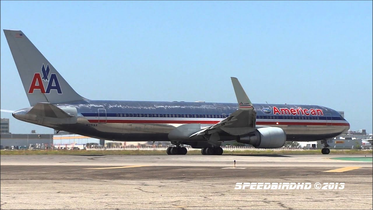 American Airlines Boeing 767-323(ER) [N351AA] at LAX