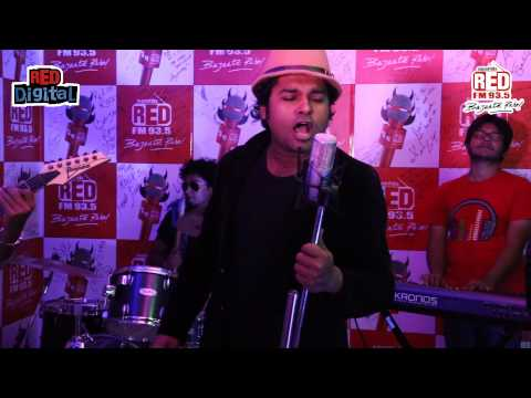 Red Bandstand Kolkata - Prachir performing at Red FM studio