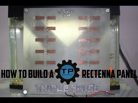 how to build a microwave rectenna