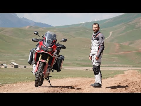 Honda Africa Twin - True Adventure in Kyrgyzstan