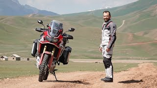 Honda Africa Twin - True Adventure in Kyrgyzstan