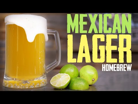 Funky Mexican Lager Homebrew - NEW 20 Gallon System!