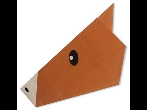 How To Make Origami Horse Face Youtube