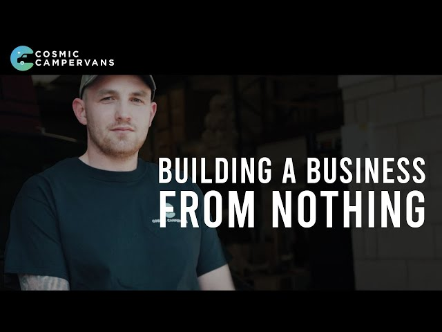 MY JOURNEY SO FAR - BUILDING A BUSINESS FROM NOTHING