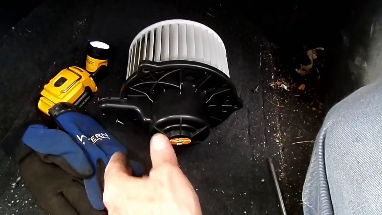 2006 10 Hyundai Elantra Blower Motor Removal Youtube