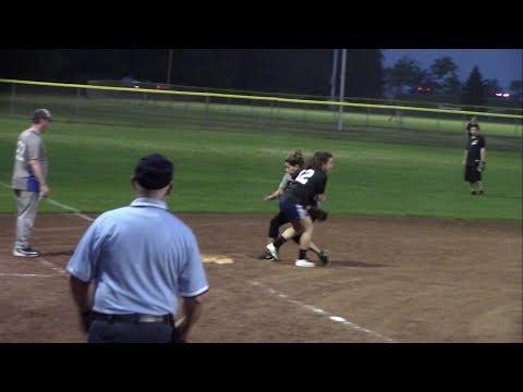 EY Coed vs NBC Sports Peacocks - Coed Softball League - Video Highlights - July 11, 2017