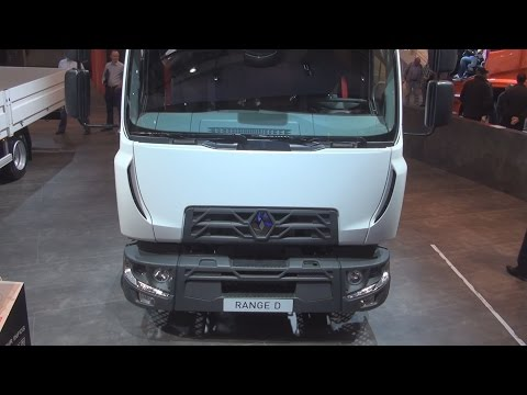 Renault Trucks D12 Protect BioDiesel Global Cab Range D (2014) Exterior and Interior in 3D 4K UHD