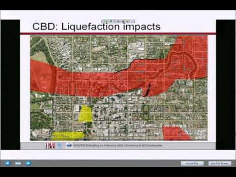 (6/9) Recon Briefing on Christchurch Earthquake of 2/22/2011 - Liquefaction