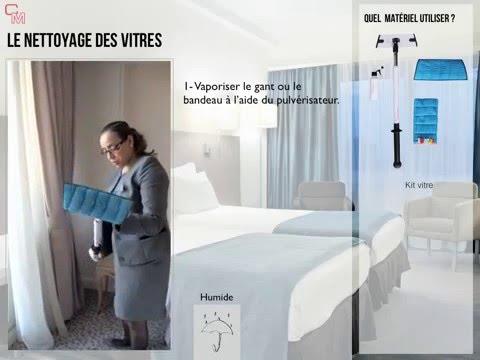 Nettoyage DUne Chambre Htel  toiles  Youtube